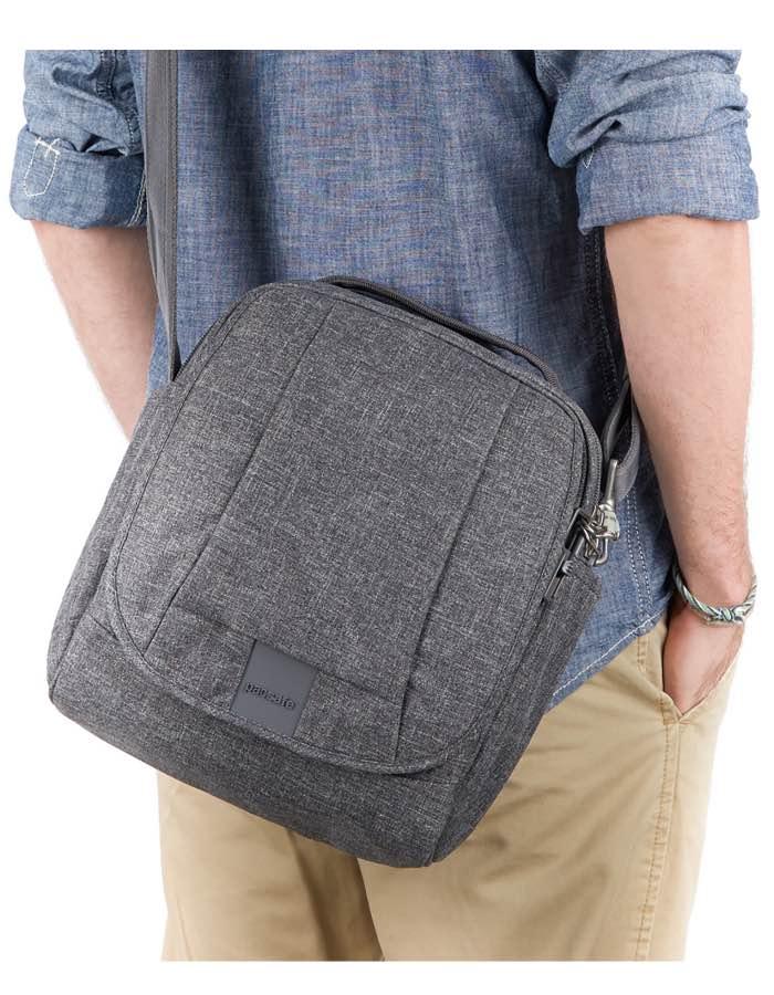 Pacsafe Metrosafe LS200 Anti Theft Shoulder Bag Rainbowbags