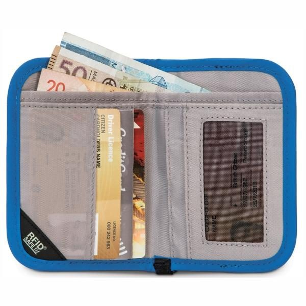 Pacsafe RFIDsafe V50 Anti Theft RFID Blocking Compact Wallet