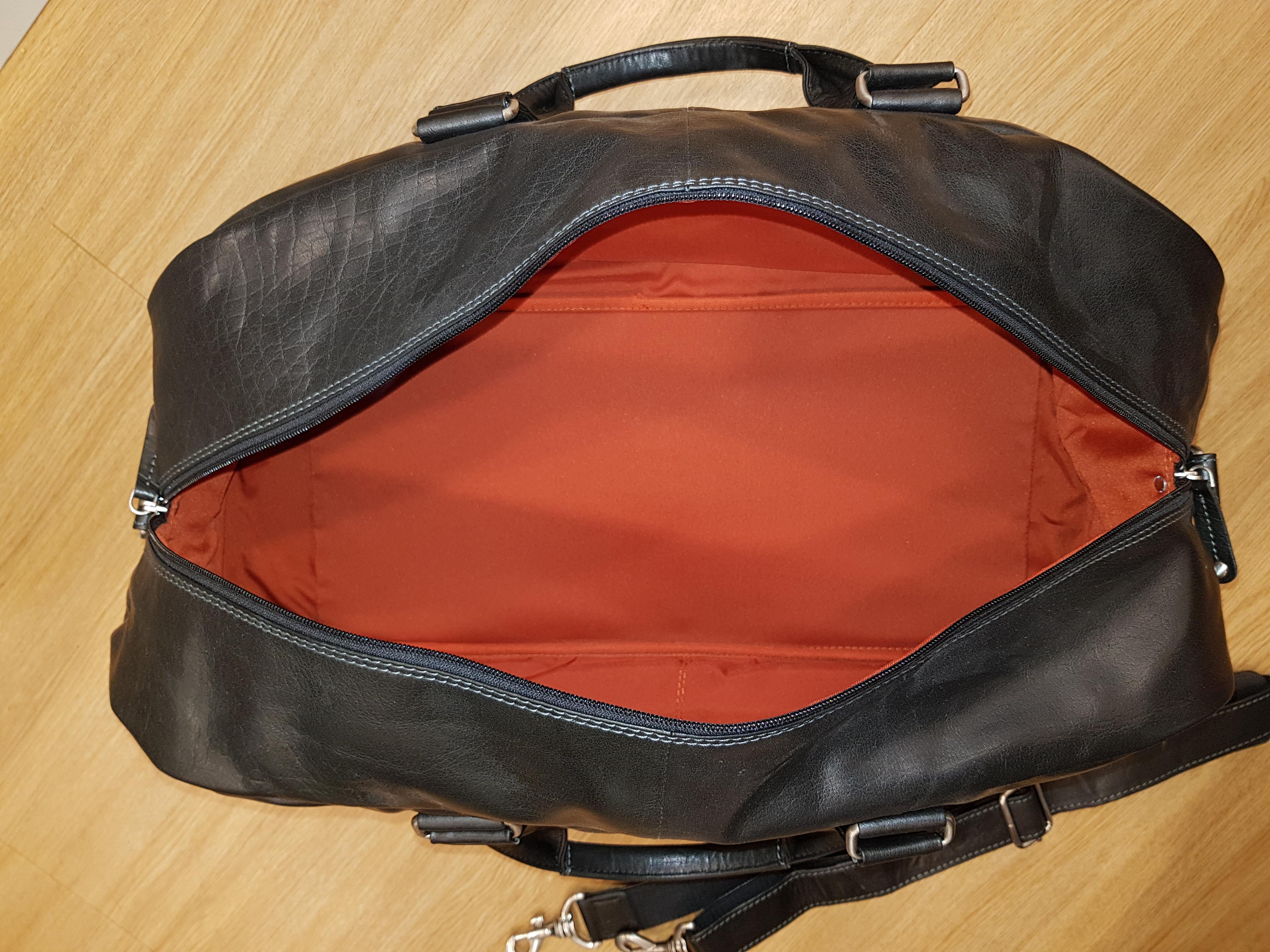 Oran Leather Overnight Bag Ob17336