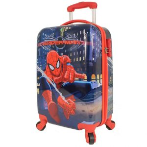 Spiderman – Small Carry On 4 Wheel Hardside Suitcase MAR043 19 0e351a4715b09
