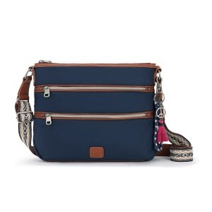 The Sak Esperato Nylon Crossbody Navy 108219