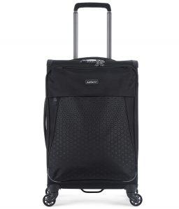 Antler – Oxygen 56cm Small 4 Wheel Suitcase – Black