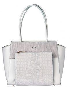 FYB London SMART City Handbag White